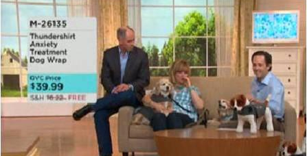 Thundershirt #1 Pet Product on QVC!